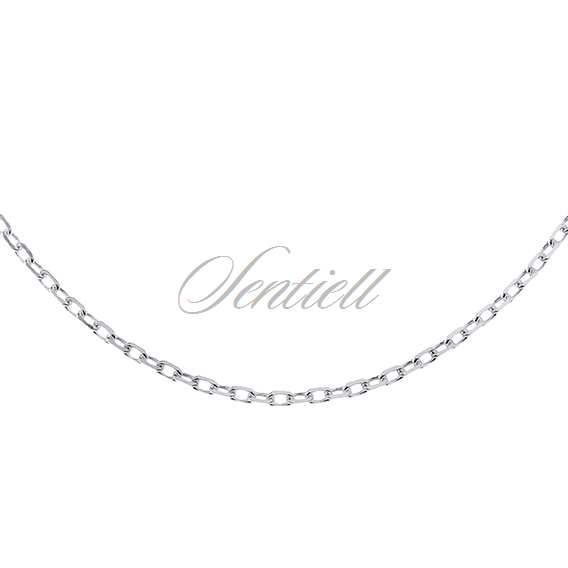 Silver (925) chain Rolo diamond cut  Ø 040
