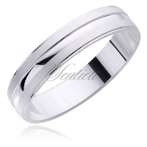 Silver (925) wedding ring